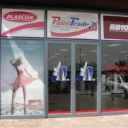 Contravision window graphics