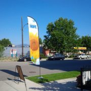 Feather-Flag-Concave-Style-for-Kelowna-Business