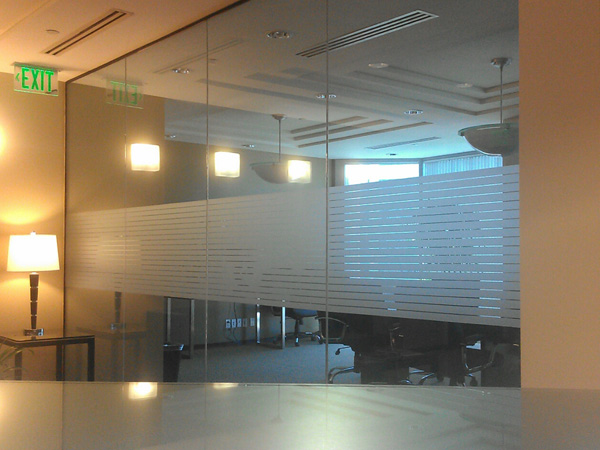Frosted Glass Vinyl Vital Brand