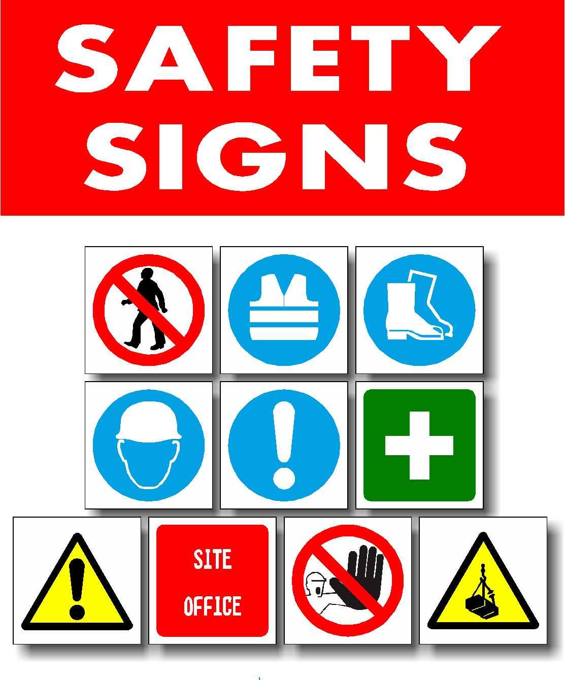 Safety Signs Vital Brand